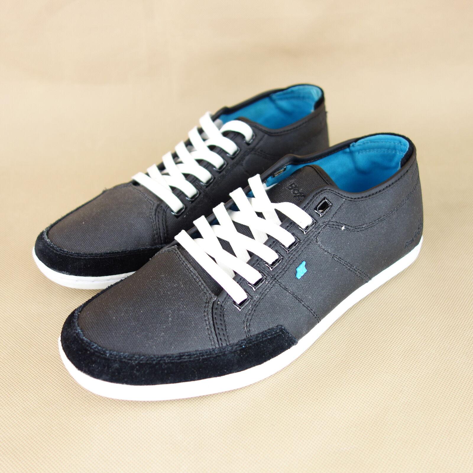 BOXFRESH Herren Schuhe Niedrig Sneaker Turnschuhe Gr 40 Sparko Schwarz  Schwarz Sparko NP 89 NEU 6c4328 b1db4df561