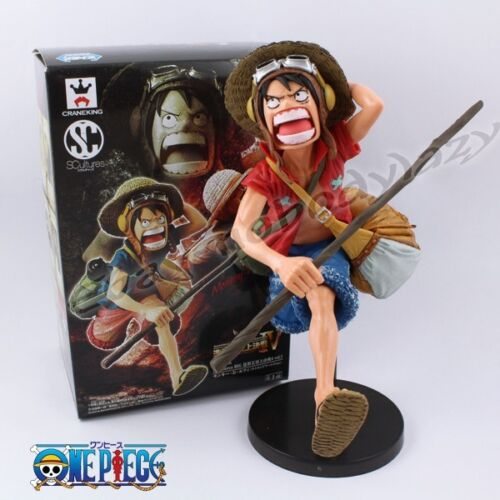 "Cool! One Piece Running MonkeyDLuffy 20cm8"" PVC Figure New In Box & No Box"