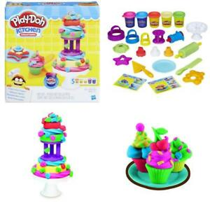 Play Doh Kitchen Creations Frost Fun Cakes Playset Toys Cook Set