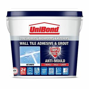 Unibond Triple Protect Anti Mould Wall Tile Adhesive And