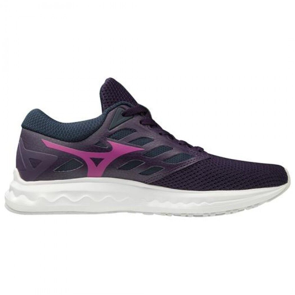 Women Running shoes Wave Polaris EZ J1GD1982 Purple × Purple 7ba46f