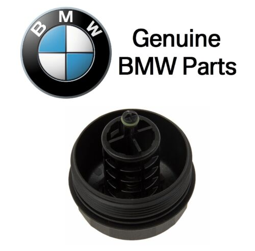 For BMW E82 E88 E91 E92 F06 F07 F12 F25 F26 Cover Cap for Oil Filter Housing OES