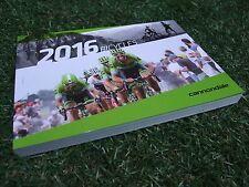 NUOVO CANNONDALE 2016 ~ 206 pagine. ROAD Triathlon CX Mountain 29r biciclette per bambini catalogo