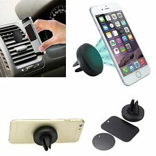Universal Magnetic In Car Vent Mount Holder For iPhone 6S 6S Plus 5S 5C 4S iPods