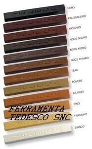 Bastoncini bastoncino ritocco stucco a cera tinte legno - Cera per mobili legno ...