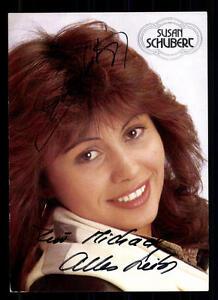 Susan Schubert Autogrammkarte Original Signiert ## Bc 42764 Exquisite Traditionelle Stickkunst Original, Nicht Zertifiziert National