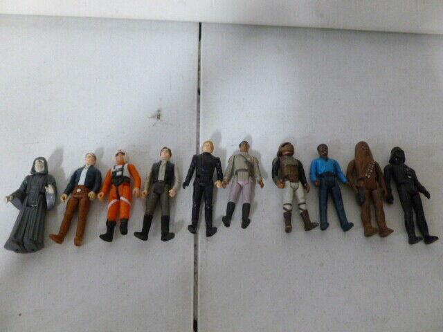 10 Original Stern Wars Wirkung Figures mit Han Solo, Luke, Chewbacca, Darth Vader