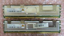 Qimonda HYS72T512420EFA-3S-C 8GB (4GBx2) PC2-5300 CL5 36c 256x4 DDR2-667 2Rx4