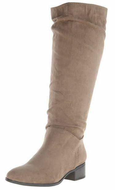 Madden Girl by Steve Madden NEW  Persiss  Taupe Slouch Boots Sizes
