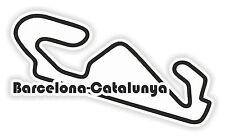 Barcelona Circuit Aufkleber Autoaufkleber Motorrad Helm Laptop Tablet Stoßstange