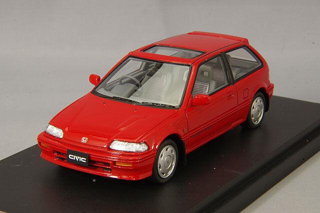 1 43 Mark 43 Honda Civic Si EF3 Rio rosso PM4358R