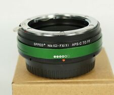 Focal Reducer Speed Booster Nikon G mount to Fuji Fujifilm XPro1 Aadapter 0.7X