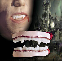 Dracula Gebiss Zähne Prothese Vampir Accessoire, Fasching Karneval Halloween