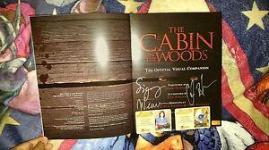 Chris Hemsworth &Sigourney Weaver Autographed Cabin Woods ...  Chris Hemsworth...
