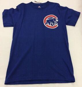 Majestic-Mens-Official-Name-amp-Number-T-Shirt-Chicago-Cubs-Starlin-Castro-13