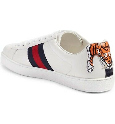 Gucci Ace Sneakers Hanging Tiger RARE