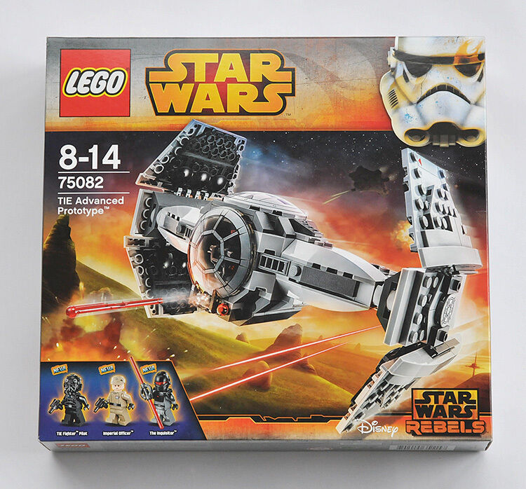 LEGO STAR WARS 75082 Tie Advanced Predotype (Brand new and sealed) - FREE P&P