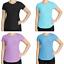 miniatuur 1 - Kirkland Signature Women's Active Casual T-Shirt V-Neck Soft Fabric 7882954