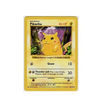 Pikachu 58/102 SHADOWLESS RED CHEEK CHEEKS Base Basic Set ERROR Pokemon Card