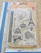 EN FRANCAIS CLING UNMOUNTED RUBBER STAMPS -PRIMA MARKETING