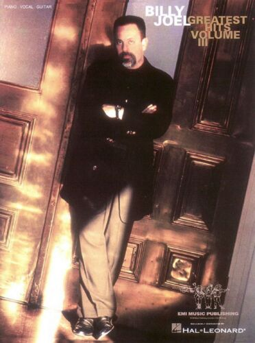 Billy Joel Greatest Hits Volume 3 Sheet Music Piano Vocal Guitar Song 000306191