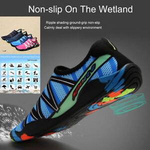 43369e33d92 Men Women Water Shoes Skin Socks Barefoot for Aqua Surf Sport Swim ...