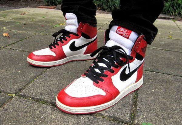 8f8c15f078d3 Nike Air Jordan I 1 S Sz 9 - 12 XII High OG Chicago Retro 2015 Red White DS  11 for sale online