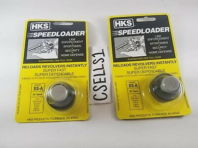 HKS Series A .38 Special 6 Round Revolver Speed Loader Model-DS-A