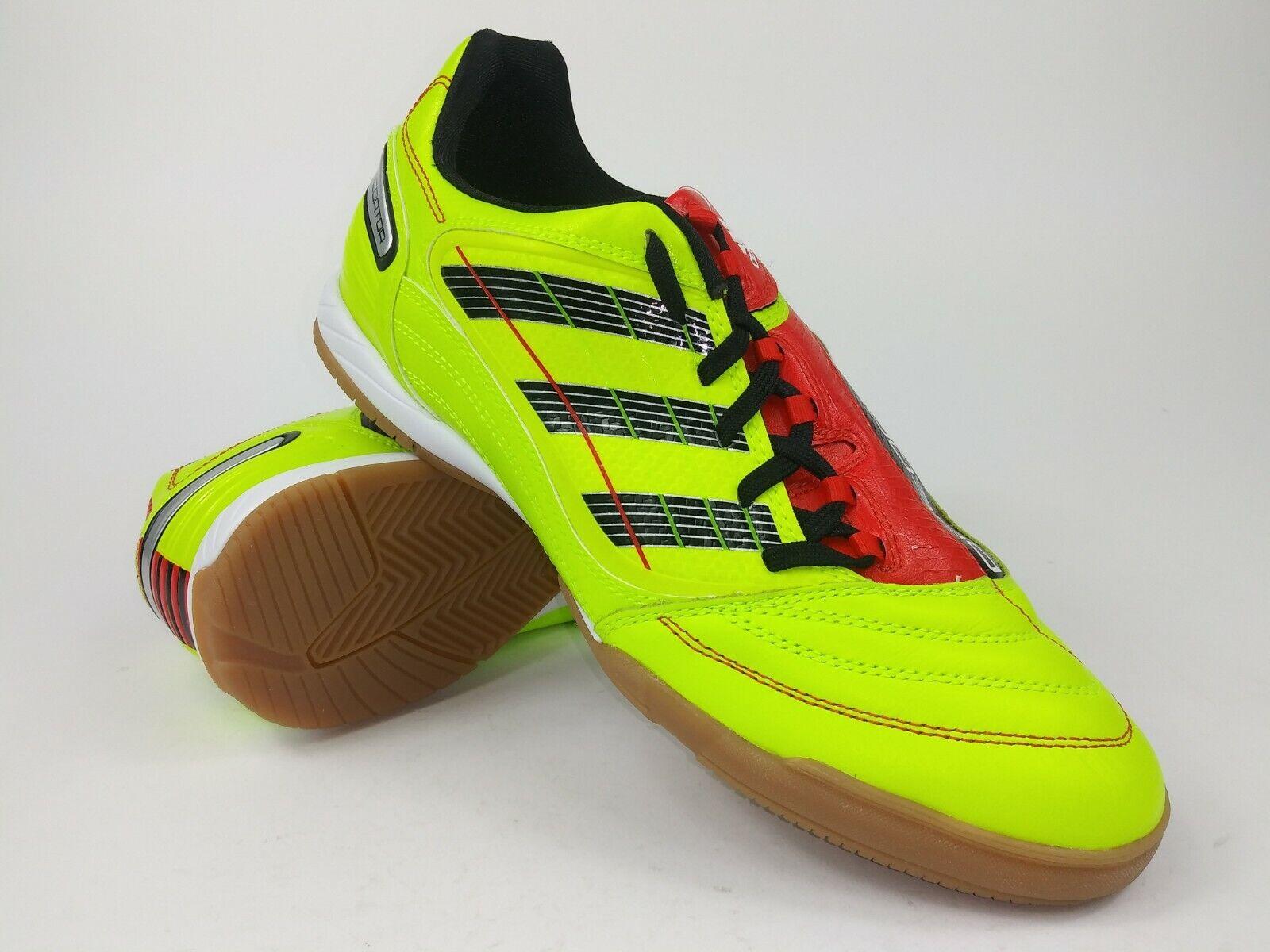 Adidas Mens Rare Prosso Absolado_X IN G43432 giallo rosso Indoor Soccer scarpe Dimensione 8