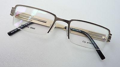 Perseverando Occhiali Telaio In Acciaio Inox Versione Occhiali Parte Occhio Rettangolare Markant Misura M-mostra Il Titolo Originale Per Classificare Prima Tra Prodotti Simili