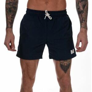 Homme-Weekend-Offender-Barios-Netted-Doublure-Nylon-Swim-Shorts-en-Bleu-Marine