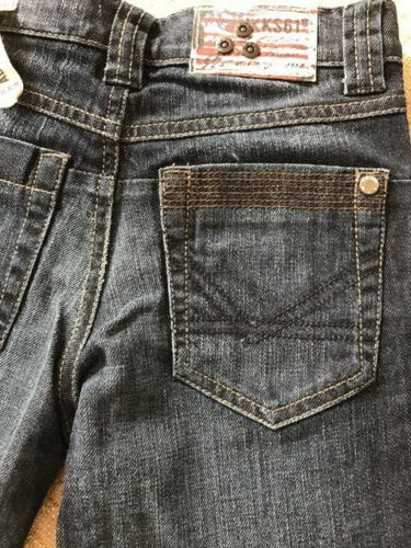 Neuf avec étiquettes IKKS cool fit Smart Denim réglable à la taille Jeans Garçons 6y 8y 10y 14y X529103