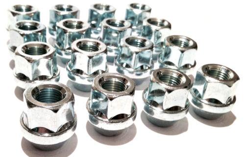 hexagonal de 19mm Tuerca de rueda de abierto de Coche Tuercas Tornillos M12 X 1.5 Asiento Cónico X 16