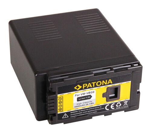 Batteria Patona 7,2V 3900mAh per Panasonic HDC-SD3,HDCSD3,SD3,HDC-SD9,HDCSD9,SD9