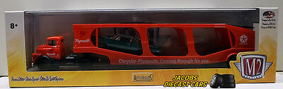 M2 MACHINES AUTO-HAULERS R20 - 1957 DODGE COE & 1969 PLYMOUTH ROAD RUNNER 440-6