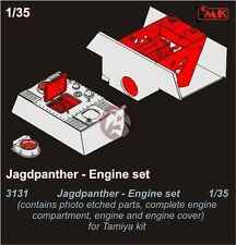 CMK 1/35 Jagdpanther Engine and Compartment Set (for Tamiya kit) 3131