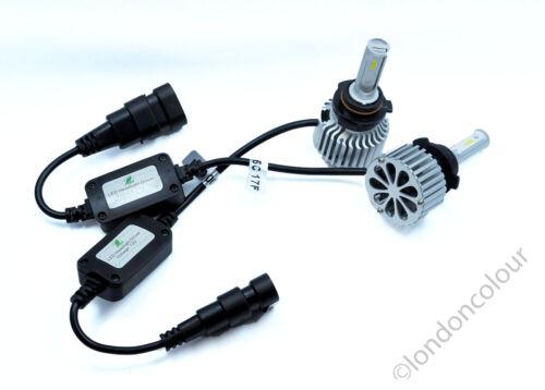 COB LED H1 H3 H4 H7 H8 H11 HB4 9012 Headlight 80W LED DRL Bulbs 6000K White Kit