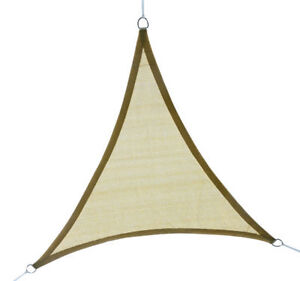 Outsunny-12ft-Patio-Lawn-Shelter-Sun-Sail-Shade-Triangle-w-Carrying-Bag-Sand