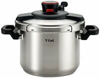 T-fal P45007 Clipso Stainless Steel Pressure Cooker, 6.3-quart , New, Free Shipp