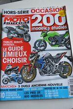 MOTO JOURNAL HS 3004 HORS-SERIE ★ GUIDE ACHAT OCCASION 2012 ★ 200 Modèles SALON