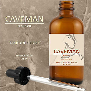 Hand Crafted Cedarwood Beard Oil Conditioner 2 Oz By Caveman® Beard Care Shave Health & Beauty