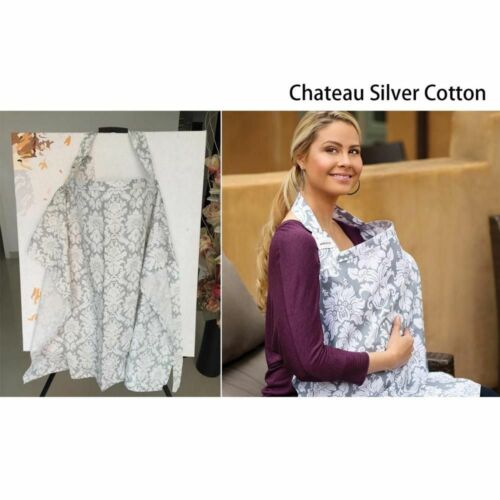Breastfeeding Cover Baby Infant Breathable Cotton Muslin Nursing Cloth Feeding