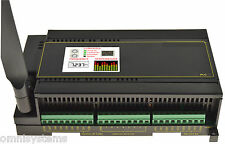 Industrial PLC - Open Source Arduino Mega 2560 Kit; DIN Rail Mount LAN WiFi RTC
