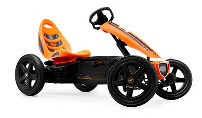 Berg Toys Rally Orange Pedal-Gokart/Gokart/Go-cart/gocart