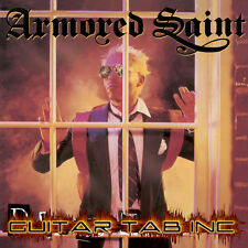 Armored Saint Guitar & Bass Tab DELIRIOUS NOMAD Lessons on Disc Anthrax