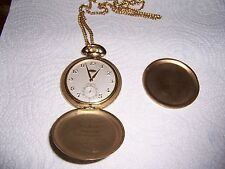 MENS DUPONT HAMILTON SWISS MADE POCKET WATCH 17 JEWELS LARGE ONE