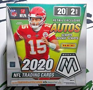 2020-Panini-NFL-Mosaic-Football-Mega-Box-Factory-Sealed-NEW-FAST-FREE-SHIPPING