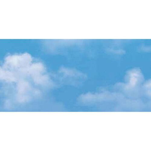Film Adhésif Meubles Feuille Nuages Ciel Nuages Bleu 0,67 m x 15 m Décor Film DECO
