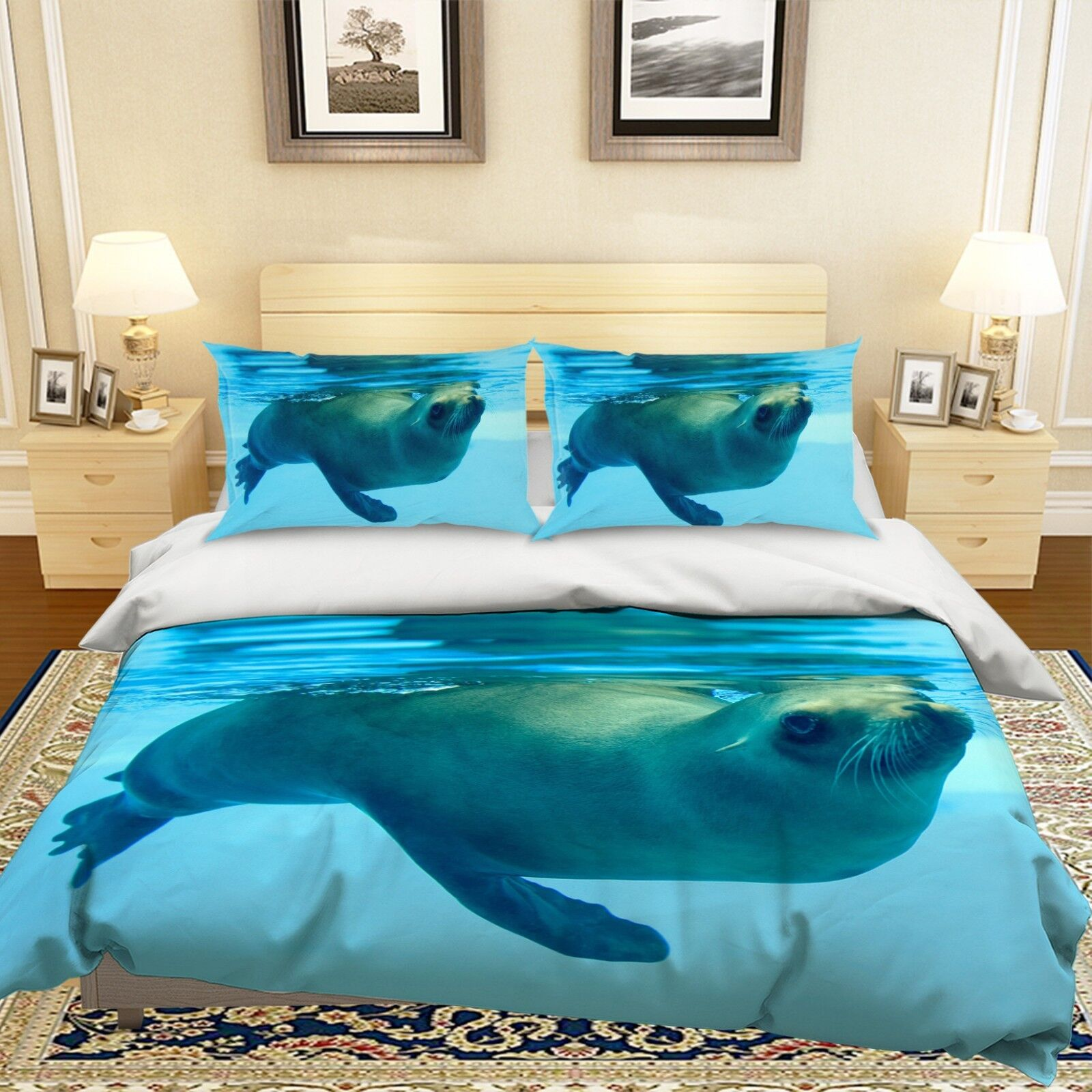 online shopping and fashion store 3D Sea Lion 09 09 09 Bed