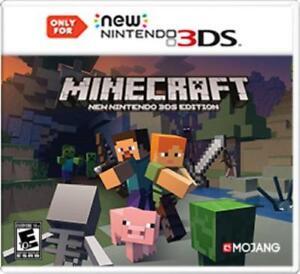 Minecraft New Nintendo DS Edition Nintendo DS EBay - Minecraft namen andern ohne mojang